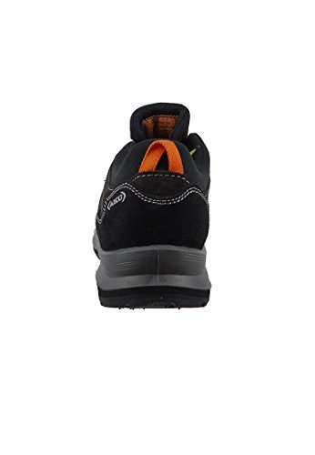 AKU - Zapatillas de senderismo de Piel para hombre negro negro negro