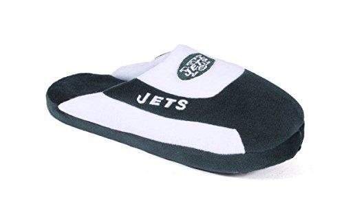 Comfy Feet NYJ07-4 - New York Jets - XL - Happy Feet NFL Low Pro ()
