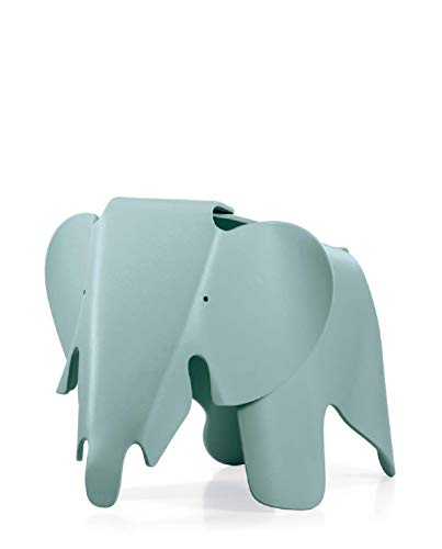 (Eames Elephant by Vitra, Color = Ice Grey)