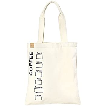 5318b95fb1a Amazon.com: Eco-Bags Products Recycled Cotton Tote, Natural: Home ...