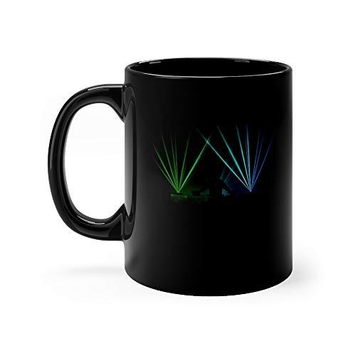 Music Dj Cup Coffee Or Tea Lasers Milk Mug Ceramic Cups 11 Oz (Audio Destination)