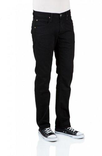 Lee - Hommes Jeans Coupe Ordinaire L706DXUA DAREN - 33W / 30L, propre noir (HFAE)