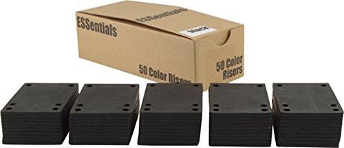 Essentials (50 Pk) Shock Pad 1/8 Bk