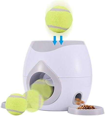 Catapulta perros mascotas interactivo pelota de tenis Lanzador de ...