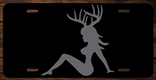 Hunting Sexy Racks Funny Vanity Front License Plate Tag KCE023