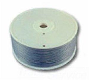 (Allen Tel AT4CLC Flat Cord 4 Conductors, 1000-Foot Length Bulk Line Cordage, Satin Silver)
