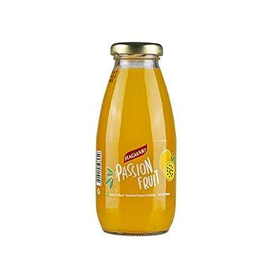 Listo para beber jugo de maracuyá premium, botella de vidrio ...