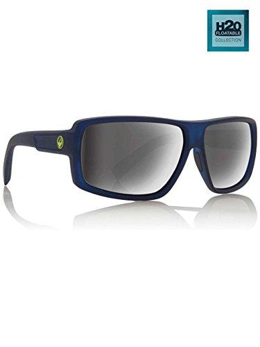 Dragon Alliance Double Dos Polarized Sunglasses Matte Crystal/Grey Ion One - Sunglasses Polarized Dragon