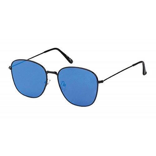 Sonnenbrille Piloten Stil 400 UV verspiegelt pink blau silber Trapez eckig schwarz U5D2obGIkJ
