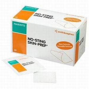 - No-sting SKIN-PREP Protective Wipes