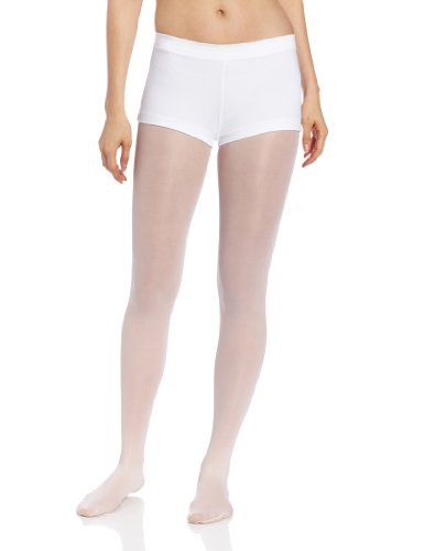 [Capezio Women's Low Rise Boy Cut Short,White,Small] (Guy Dance Costumes)