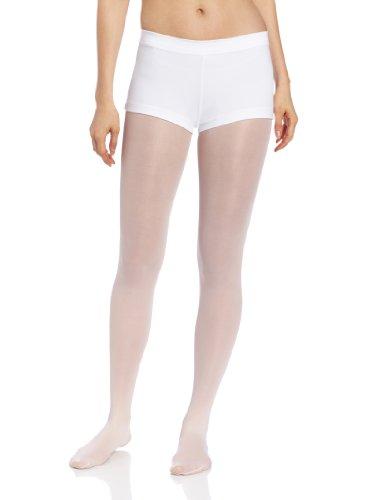 Capezio Boy Cut Low Rise Shorts - Size Small, White ()