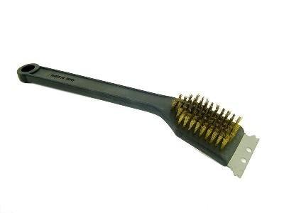 cepillo larga para barbacoa limpiador parrilla parrilla BBQ Refractante ollare 2 funciones: Amazon.es: Bricolaje y herramientas