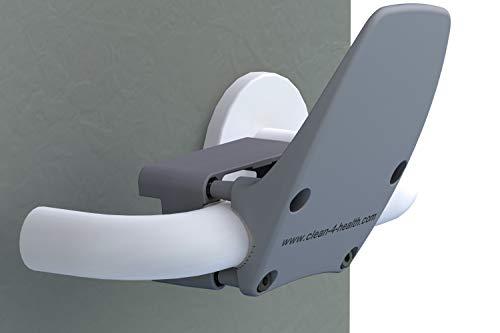 Handfrei Türöffner clean4health in anthrazit, zur Senkung des Infektionsrisikos an Türen, 9530x0000