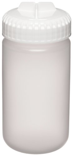Nalgene 3141-0250 Polypropylene Copolymer 250mL Centrifuge Bottle with Polypropylene Screw Closure/Silicone Gasket (Pack of 4)