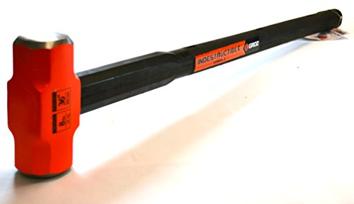 Groz 34517 Indestructible Handle Sledge Hammer with 8-Pound Head and 36-Inch Handle