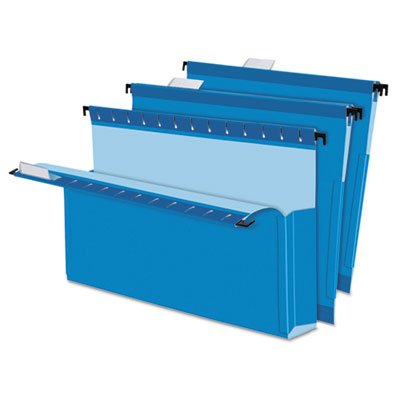 SureHook Reinforced Hanging Box Files, 2'' Expansion, Legal, Blue, 25/Box, Sold as 2 Box, 25 Each per Box