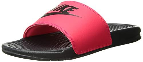Nike Men's Benassi Just Do It Sandal red Orbit/Black - Anthracite 11 Regular US by Nike (Image #7)