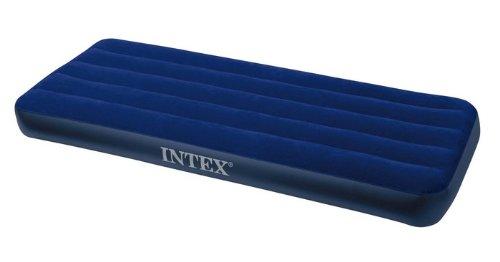 INTEX L/&G FR 68949v16 Downy Matelas Gonflable Vinyle Bleu 120 x 190 x 23 cm