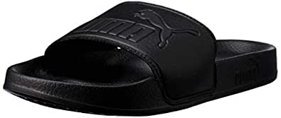 PUMA Men's Leadcat BlackBlack Shoes, Black (Puma Black-Puma Black), 6 US