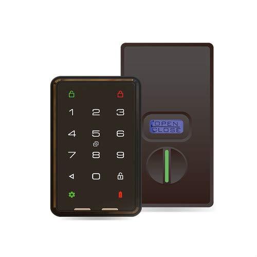 【事前予約受付中】KEYVOX 鍵屋も驚く次世代スマートロック(BCL-XP1) ICカードでPINコードでアプリであらゆる解錠対応 穴あけ不要 適用可能ドア厚さ30-60mm 美和ロック製品錠前推奨 B07QWY9XYQ