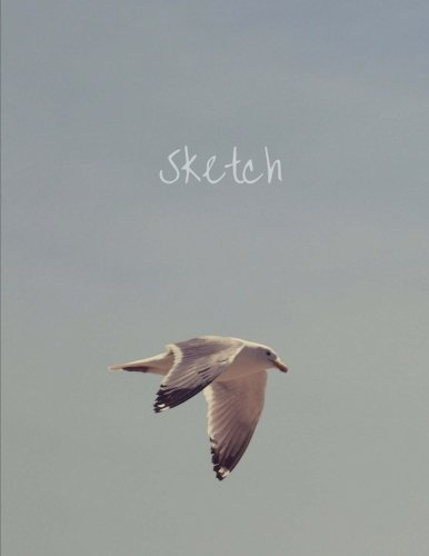 sketch-8-5-x-11-large-sketch-book-journal-seagull-flying-cover-black-spine-blank-notebook-unlined-paper-for-sketching-writing-doodling-art-sketch-pad-100-durable-unruled-pages