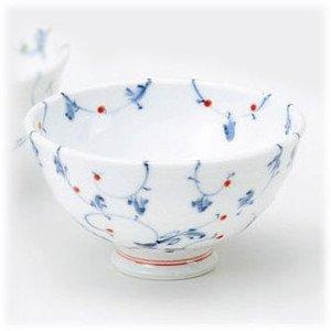 Arita porcelain rice bowl Porcelain rice bowl: points: Arabesque rice bowl (small) set 5 piece set / fun toy (kitchen utensils)
