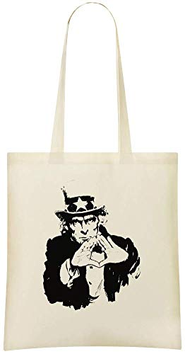 Uncle Grocery amp; Shoulder Eco For Bags Soft Tote Sam Stylish Custom Use Cotton Printed Custom Illuminati Friendly Handbag 100 Bag Everyday rwCr7qIv