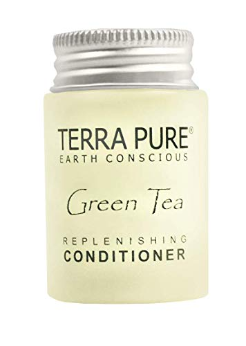Terra Pure Conditioner, Travel Size Hotel Amenities, 1 oz (Case of 300)