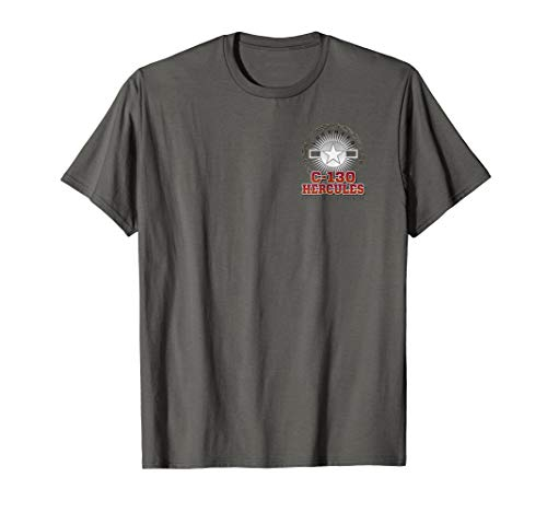 Used, C-130 Hercules Herk at Work Transport T-Shirt 2 Sided for sale  Delivered anywhere in USA