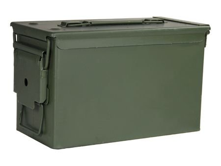 ATK 970032 50 Cal Ammo Cans, Green Finish