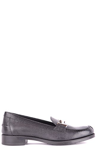 Tod's Women's Mcbi293231o Black Leather Loafers by Tod's