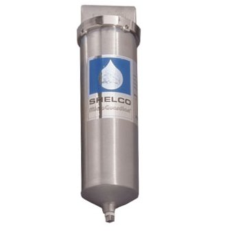 Stainless Steel Water / Fluid Filter Housing, 2.5 x 10 - RHS-78