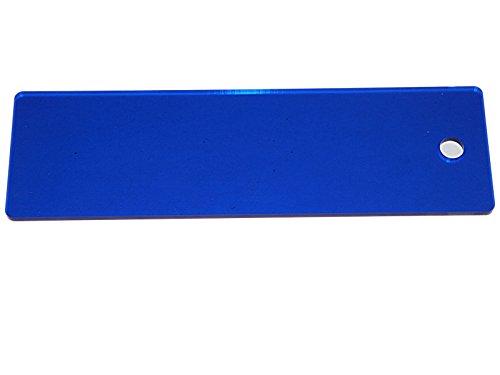 WSD Snowboard Plexi Scraper Tuning and Skis Wax Scraper (Snowboard Scraper)