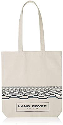 Land Rover Collection New Genuine Canvas Tote Shopping Bag