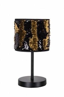 Bling dorado y negro 218150 lámpara de mesa - Globen ...