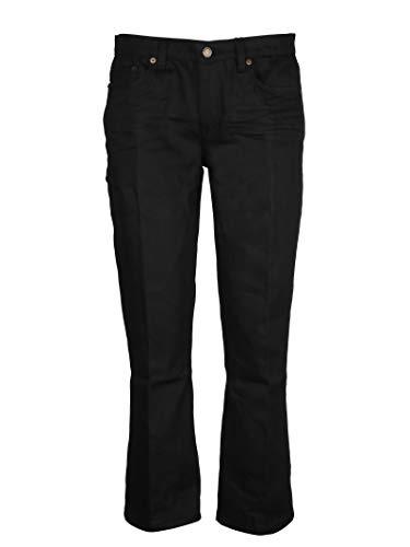 Cotone Nero Jeans Donna Saint Laurent 527662YF8691080 qA4w61Iz