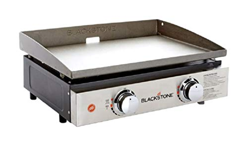 Blackstone 1666 Tabletop Griddle with Stainless Steel Front Plate-22