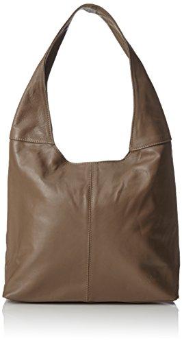taupe Shopper A Rubin E Borse Tracolla Bags4less Marrone Donna qIg586