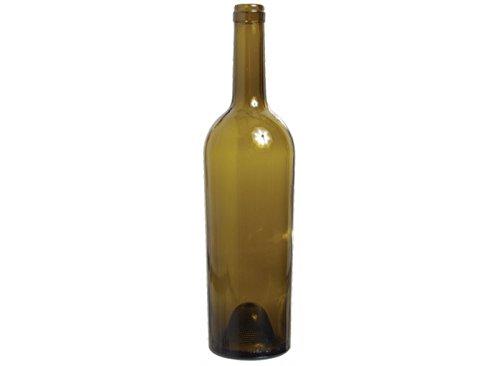 Green Antique Bottle - Wine Bottles (Antique Green) - Tapered 750ml (Case of 12)