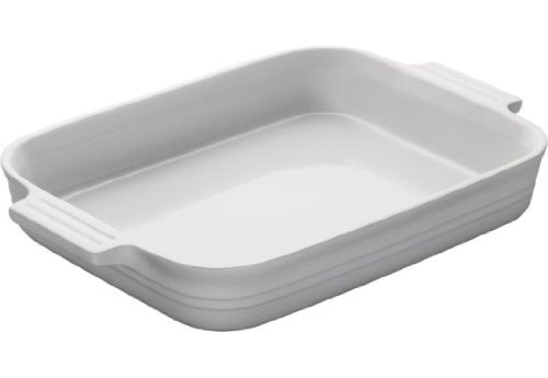 UPC 024147906391, Le Creuset Stoneware 12-1/2-by-9-1/2-Inch Rectangular Baking Dish, White