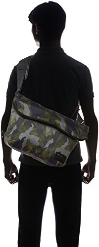 Borsa Camo Green F-Close Messenger di Diesel