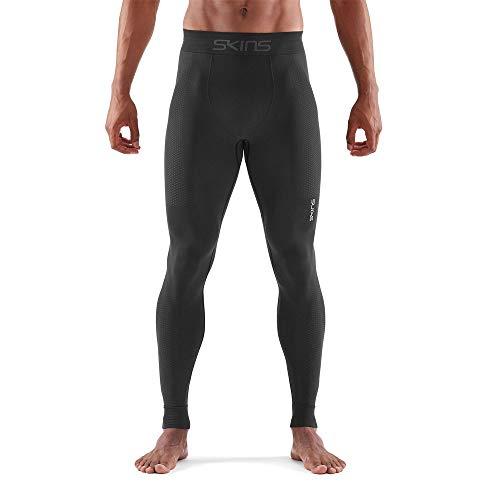 Skins Men's DNAmic Base Mens Long Tights Black XL, Black, - Long Tights