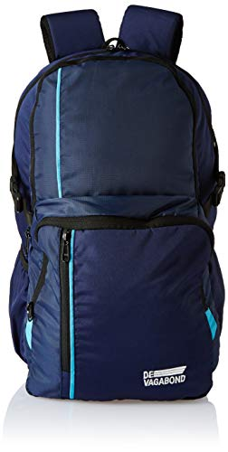 Devagabond 25 Ltrs Black School Backpack  Tom_2_Blue