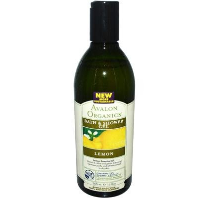 Buy avalon organics bath and shower gel lemon 12 fl oz