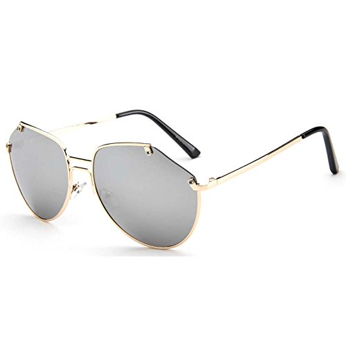 My.Monkey 2016 New Fashion Cute Reflective mirror Oversized - Shape Fit Sunglasses Face What My