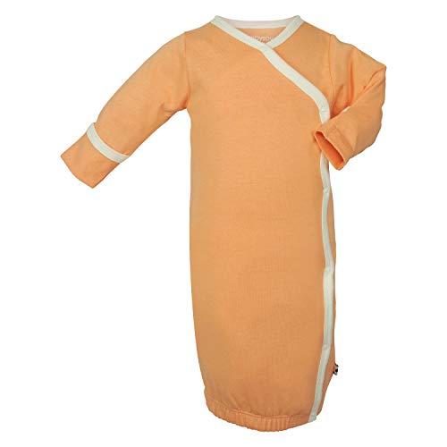 Babysoy Kimono Bundler (Baby) - Cantaloupe-0-3 Months (Bundler Baby Kimono)