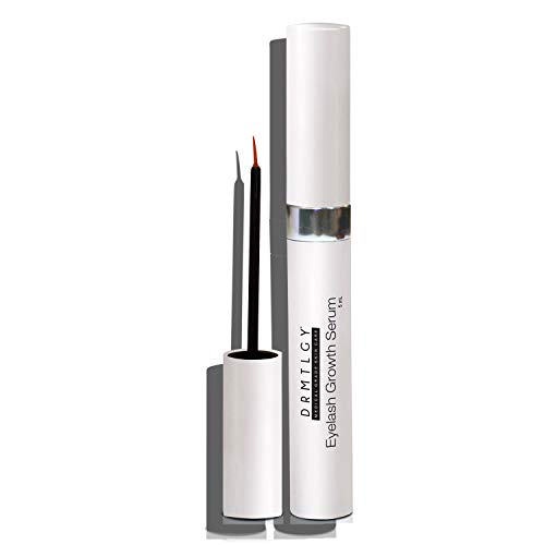 DRMTLGY Eyelash and Eyebrow Growth Serum. Boost Lashes and Eyebrows Using a Natural Peptides Complex. Longer, Fuller, and More Luscious.