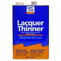 Lacquer Thinner 1Gal-2pack