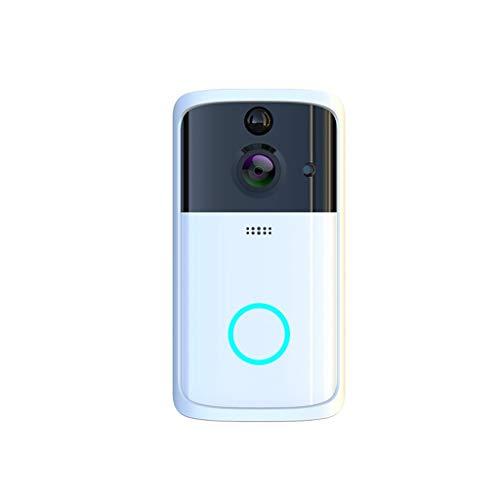 ❤Lemoning❤M7 1080P Smart WiFi Security Doorbell Wireless Video Phone Camera Night Vision (Silver)